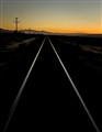 Mojave Sunset Perspective