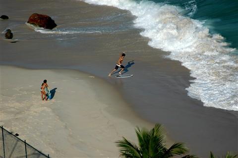 Rio beach_outside sheraton