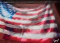 US Flag Mural