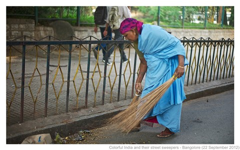 Image result for india street sweeper