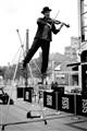 St Patrick's day fiddler