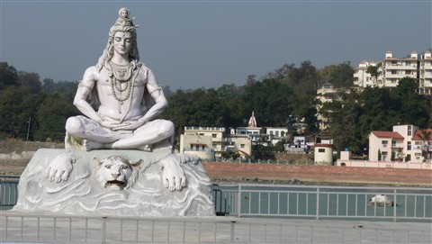 Lord shiva in Risikesh
