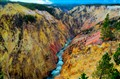 The most colorful gorge