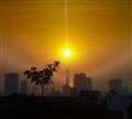 Beam me up Scotty - Sunset in Bangkok