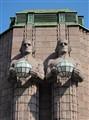 Helsinki Railway Station Statues