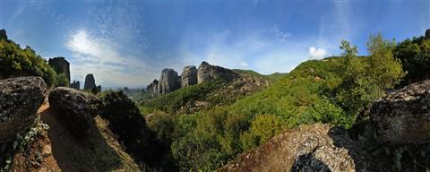 Meteora 360 panorama