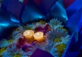 Krathong with candles and flowers - Tampa Florida - 2012