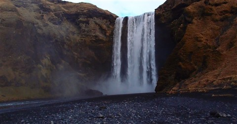 Skogarfoss Water Fall