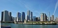 View of Chicago Skyline across the water