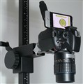 Camera setup with spirit level app