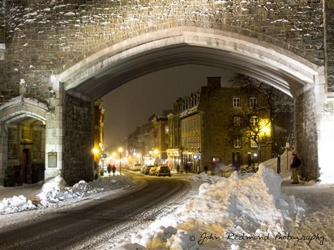 La porte Saint-Jean (Québec City)