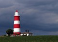 Happisburgh lighthouse - just before the storm