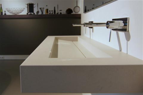 13 mm Quartz vanity top