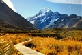 A Trail to Mt. Cook,NZ