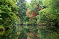 On the River - Ramapo Reflections