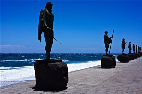 Statues of Warriors