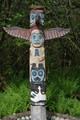 Totem pole in Juneau, Alaska.