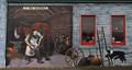 J. T. King - Blacksmith (Mural)