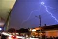 steady lightning...