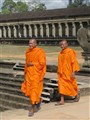 Buddhist monks at Angkor Wat