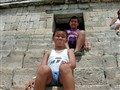 Down from the top of Chichen Itza