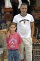 Adel and his father Otman at their Handicrafts Shop in Al-Jididda, Morocco