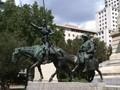 Don Quixote, Plaza de Espana, Madrid.