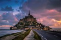 Mont Saint Michel Early Morning