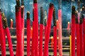 Red incenses