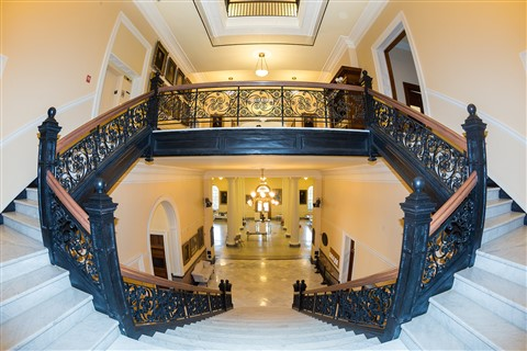 Stairway in Maine Capitol Building
