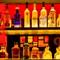 wisky bottles