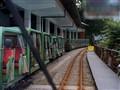 Wulai tourist mini train, Taiwan