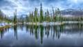 Sylvan Lake Rain