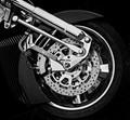 Honda Motorbike wheel