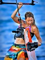 Lady Kite Surfer