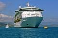 cruise ship in caribbean