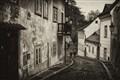 An Old Street in Prague
