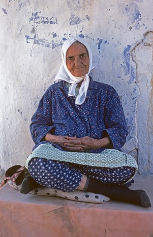 old woman, Turkey
