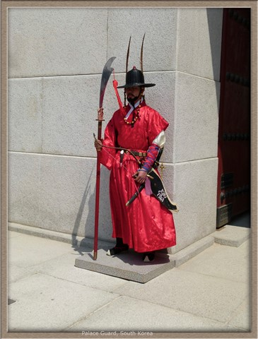 Palace guard, South Korea
