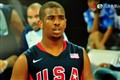 Photo of Chris Paul taken on HDTV during 2008 Olympics