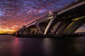 Sunrise at the Woodrow Wilson Bridge