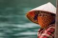 Vietnamese Fishing Village Woman