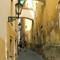 Secret alley at Prague