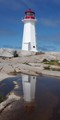 Lighthouse at Peggy's Cove, NS, Canada
