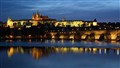 Prague Castle & Charles Bridge at Dusk