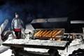 salmon grill in finland