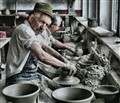 Potter at His Trade