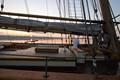 Pride of BaltimoreII at dawn