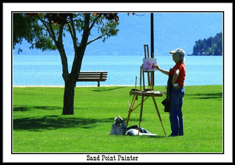 Sand Point Painter frame