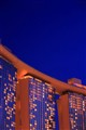Dusk Marina Bay Sands Hotel